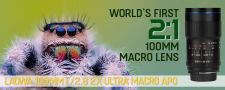 Laowa 100mm f/2.8 2x Ultra Macro APO